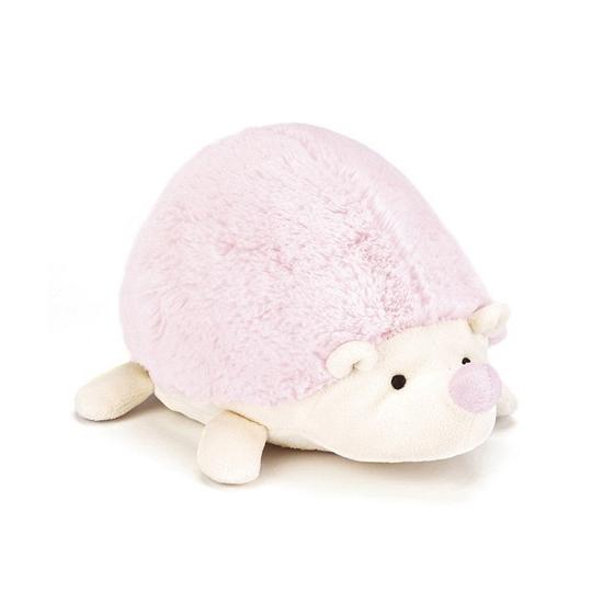 Babyroze pluche egel knuffel 22 cm
