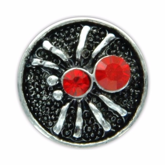 Chunk met spin rood 1,8 cm
