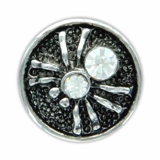 Chunk met spin wit 1,8 cm