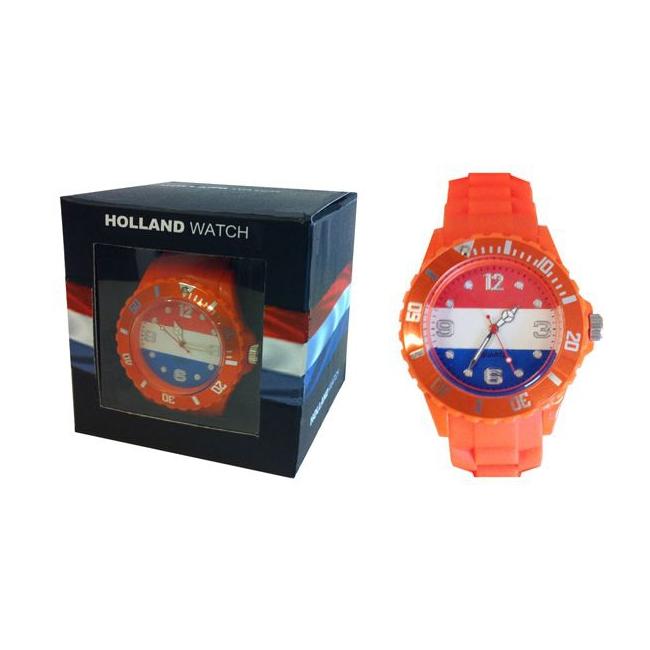 Oranje supporters horloge voor dames incl. batterij