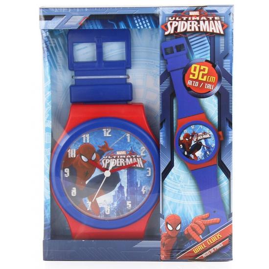 Spiderman wandklok 92 cm