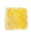 Decoratie paasgras geel 45 gram