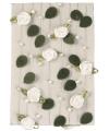 Decoratie witte roosjes aan slinger 2 meter