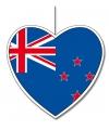 Nieuw Zeelands decoratief hart 30 cm