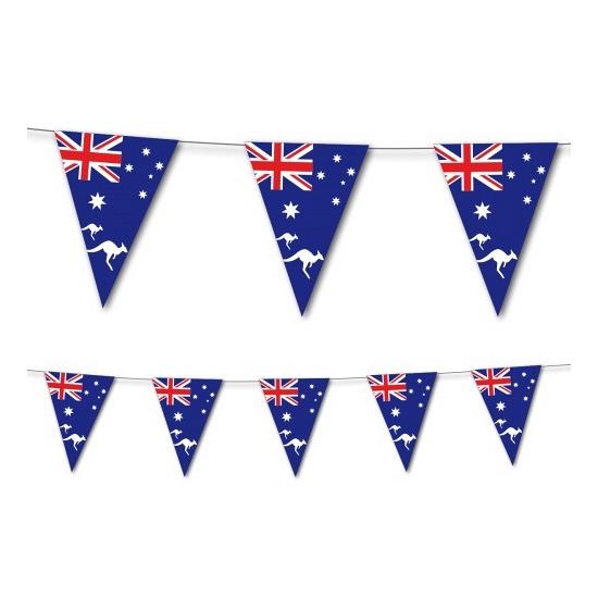 Geen Landen versiering en vlaggen Het leukste
