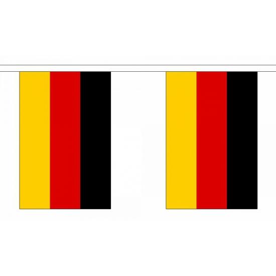 Landen versiering en vlaggen Geen Polyester Duitsland slinger