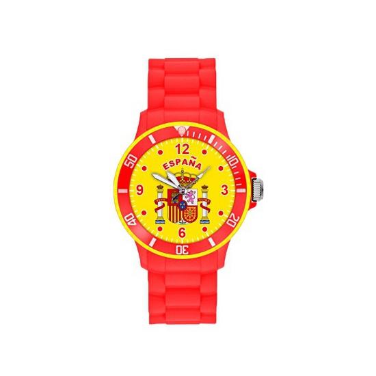 Spanje siliconen horloge