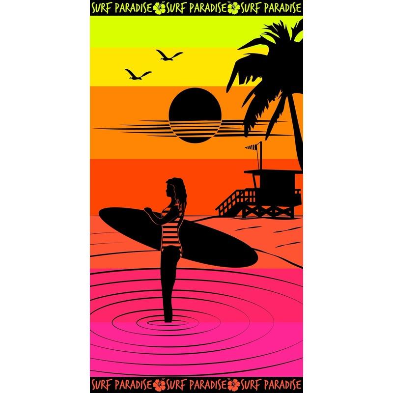 Strandlaken Paradise Sunset 95/100 x 175 cm