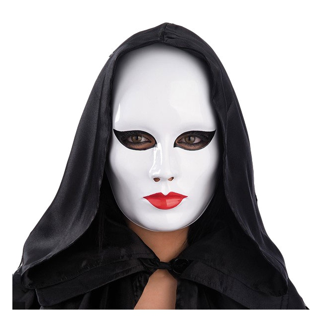 witte gezicht verf