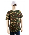 Kleding Army camouflage t-shirt korte mouw