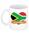 Hartje Zuid Afrika mok / beker 300 ml
