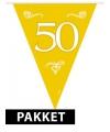 Gouden versiering pakket 50 jaar