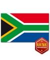 Landen Luxe vlag Zuid Afrika