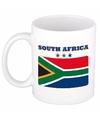 Mok / beker Zuid Afrikaanse vlag 300 ml