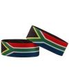 Supporter armband Zuid Afrika
