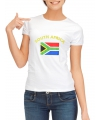 Zuid Afrika t-shirt met vlag