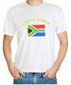 Landen t-shirt vlag Zuid-Afrika