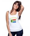 Zuid Afrika singlet met vlag