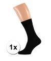 Zwarte kwaliteit heren sokken maat 39/42