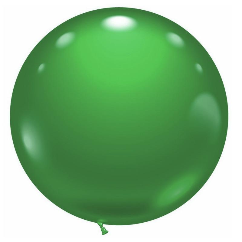 1 super grote groene ballon