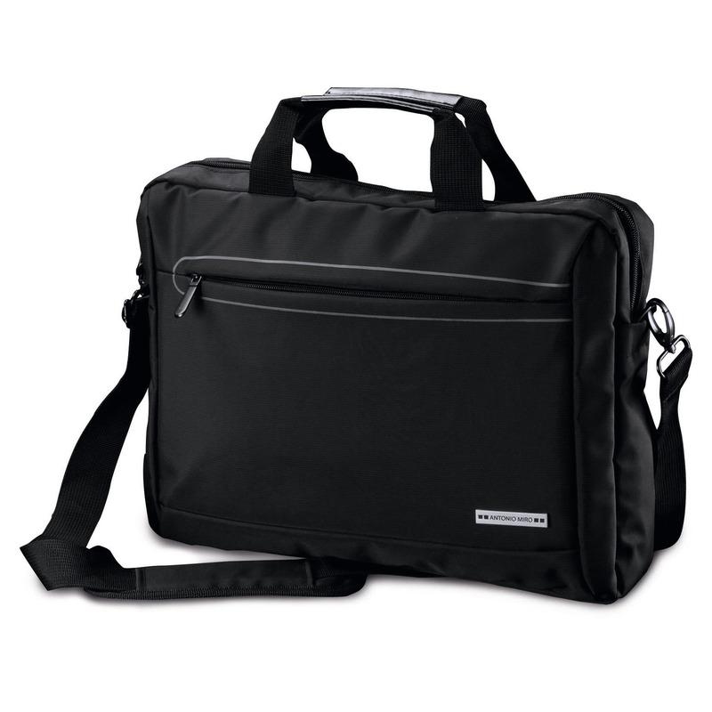 696885f0c65 Zwarte aktetas waar ook een laptop van maximaal 15,6 inch in kan. de