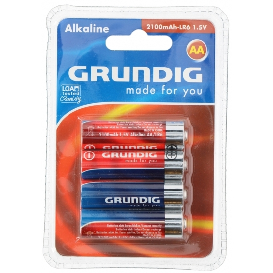 Batterijen LR6 AA Grundig 4 stuks - Action products