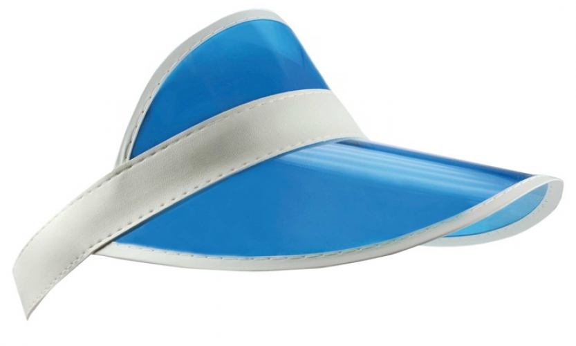 86dc57e38d4c8c Zonnepet transparant blauw wit - Primodo warenhuis