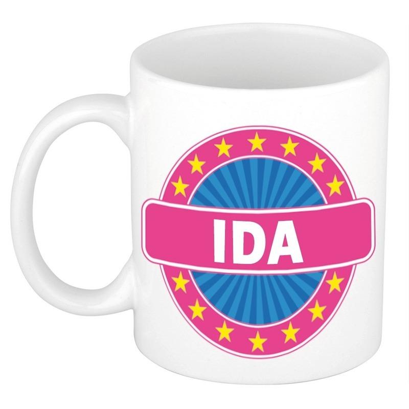 Cadeau mok voor collega Ida