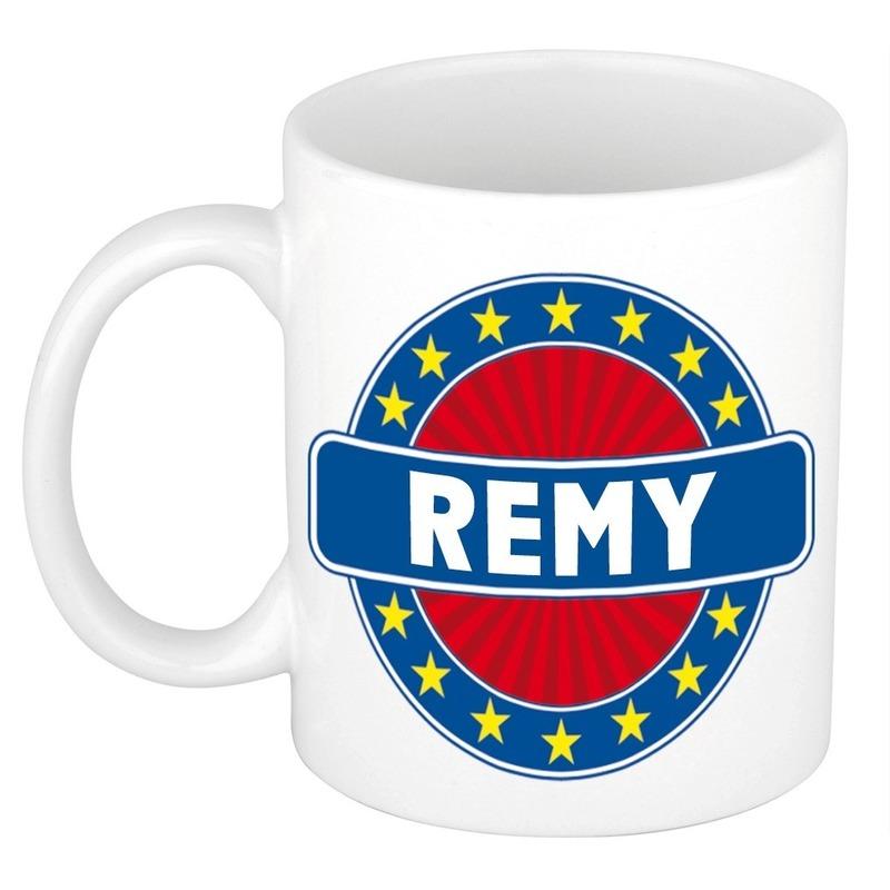 Cadeau mok voor collega Remy