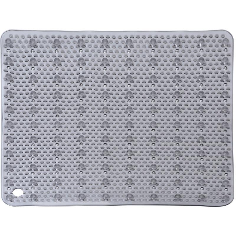 Grijze antislip mat voor douchekabine 52 cm - Action products