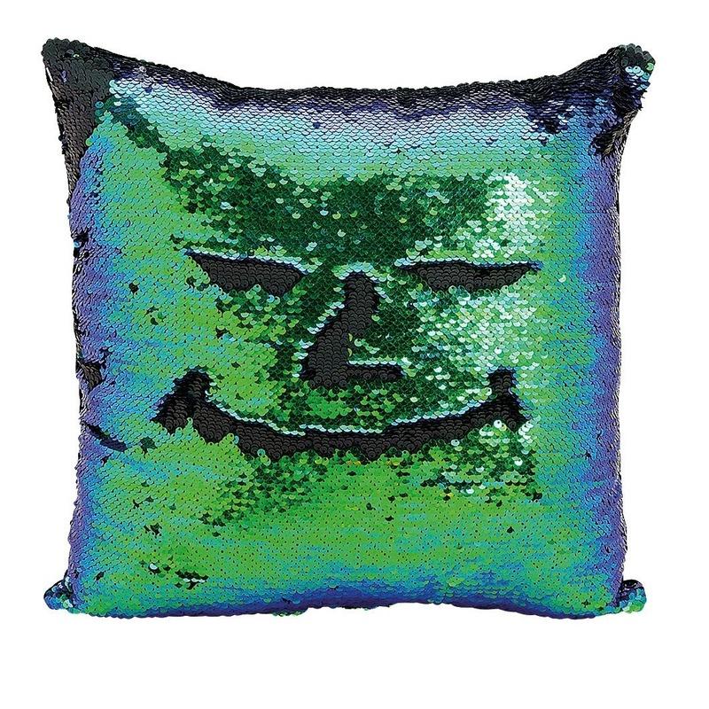 Kussens Bij Action.Kussen Blauw Groen Metallic Met Pailletten 40 X 40 Cm