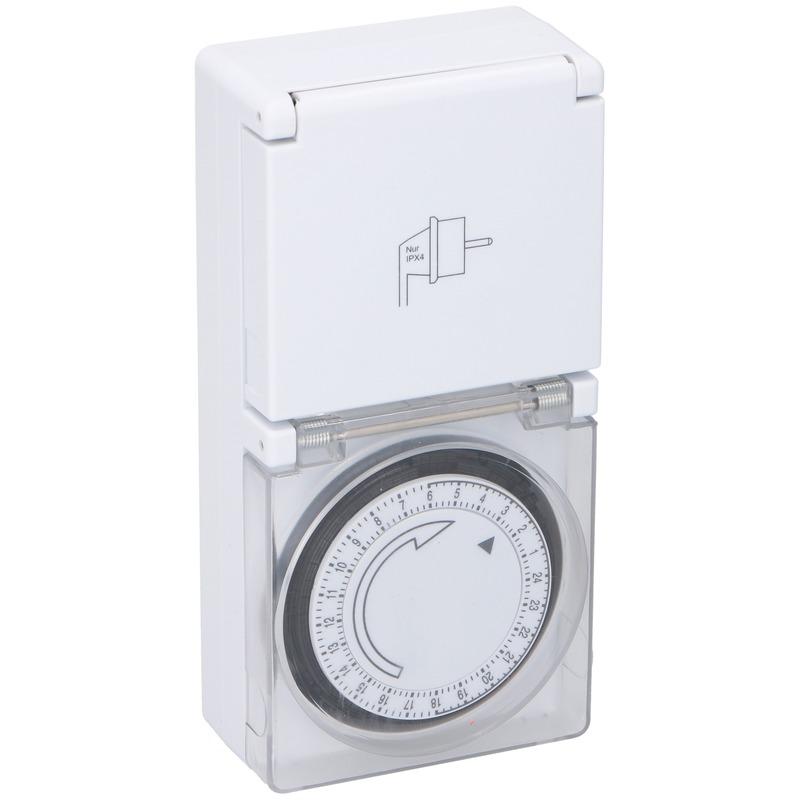 Mechanische timer/tijdklok met afdekklepje - Action products