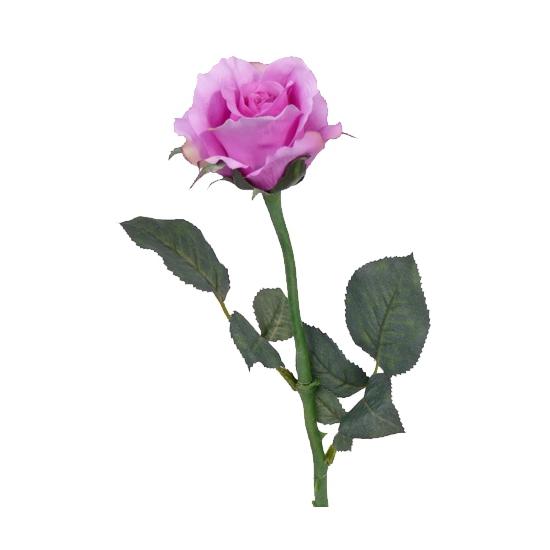 Nep roos paars 58 cm