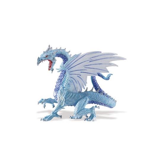 Plastic blauwe draak 15 cm - Action products