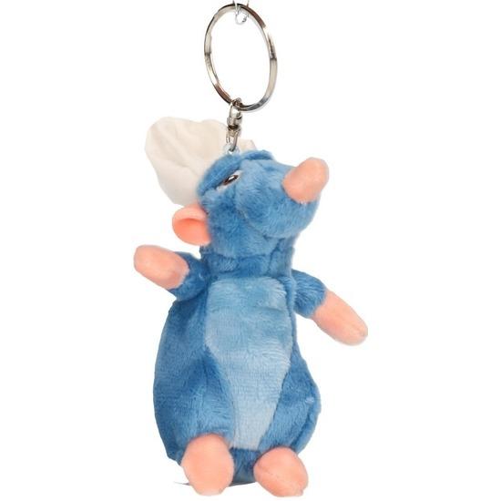 Pluche Disney Remy Ratatouille muis sleutelhanger/knuffel 10 cm