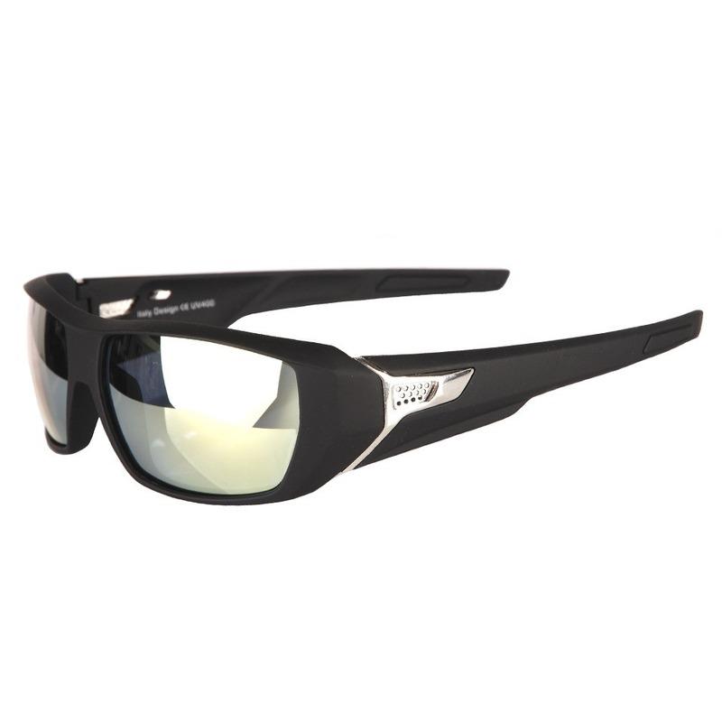 cbaa60d09dd120 Biker zonnebril sportief. luxe zonnebril met een sportieve uitstraling. de  zonnebril is gemaakt van
