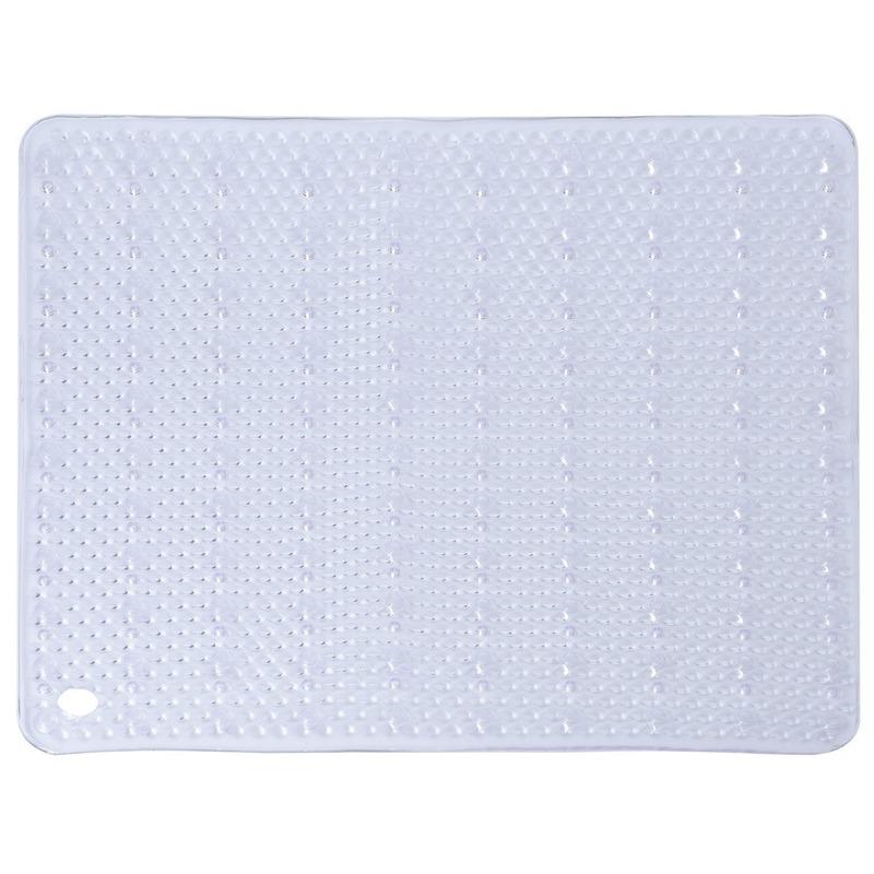 Witte antislip mat voor douchekabine 52 cm - Action products