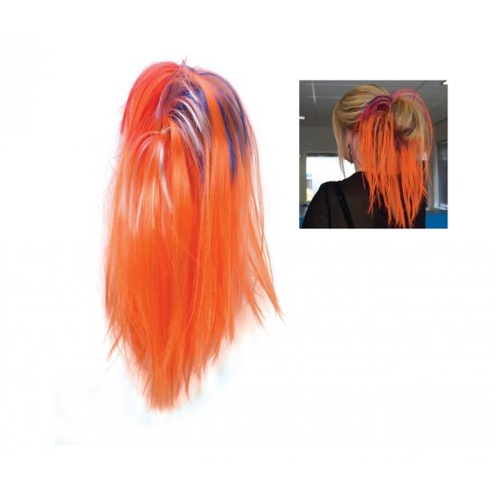 WK hairextensions oranje